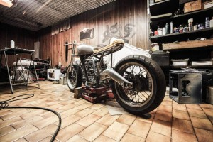 how to clean motorcycle tire