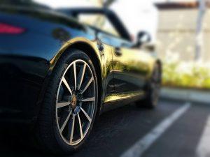 Permanent tire shine